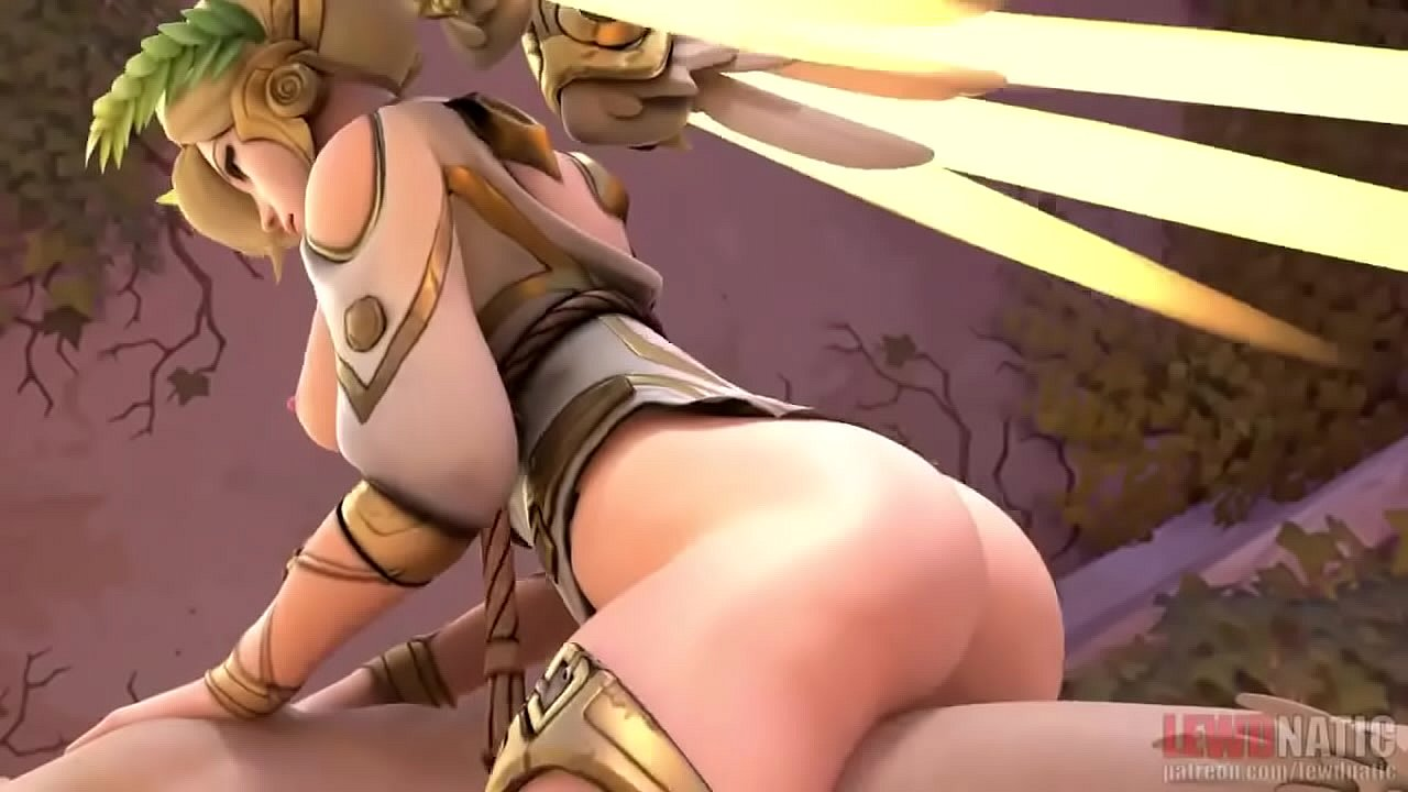 Overwatch Genji X Mercy