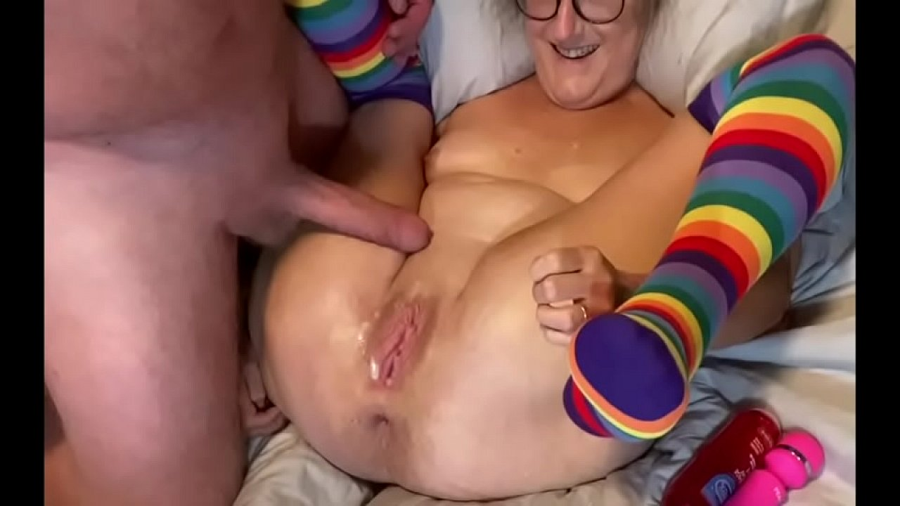 Porn trans cum from the strap-on