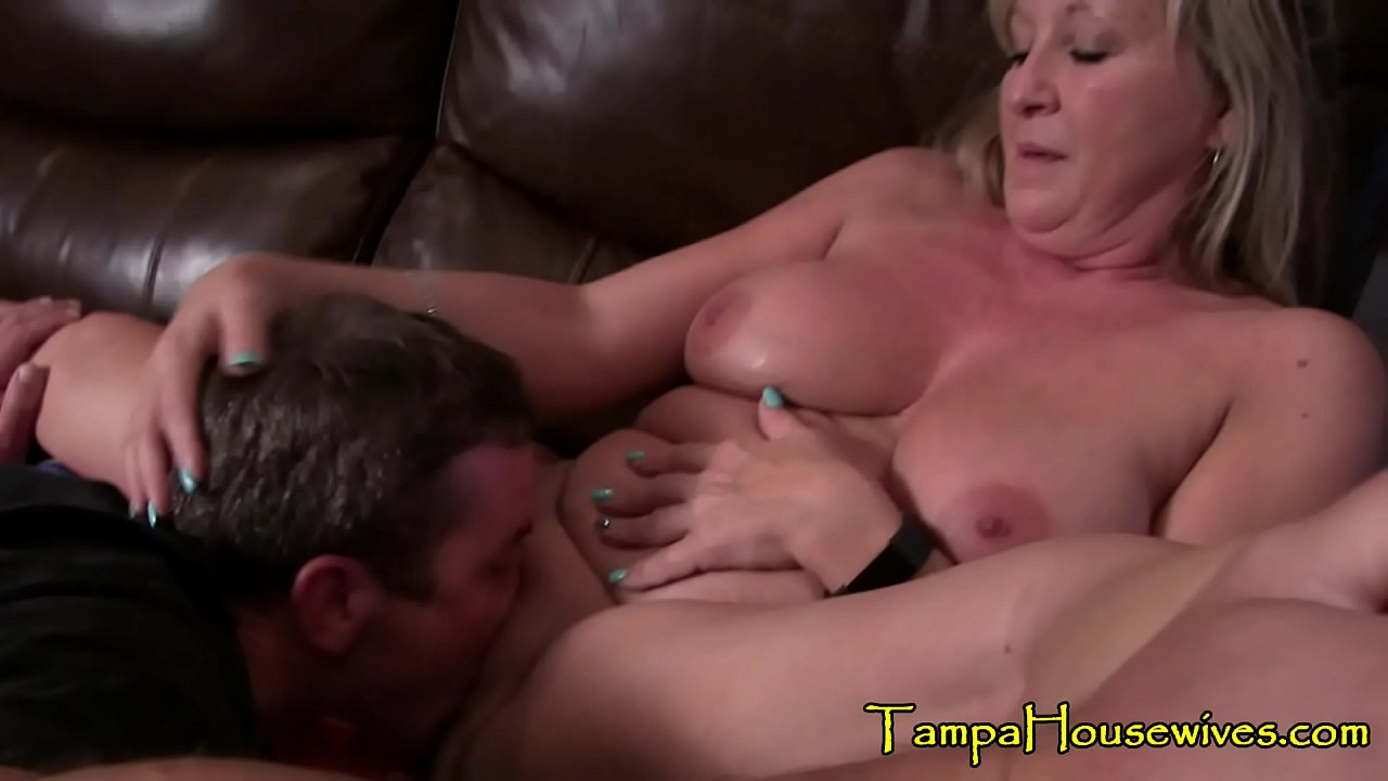 Hot Blonde Step Mom Fucks Son
