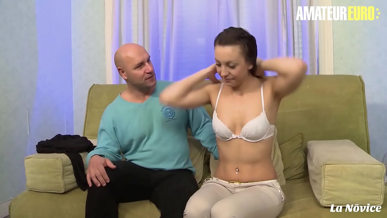AMATEUR EURO - Cute Amateur Teen Nora Luxia Has Hot Anal Sex With Her Tinder Daddy