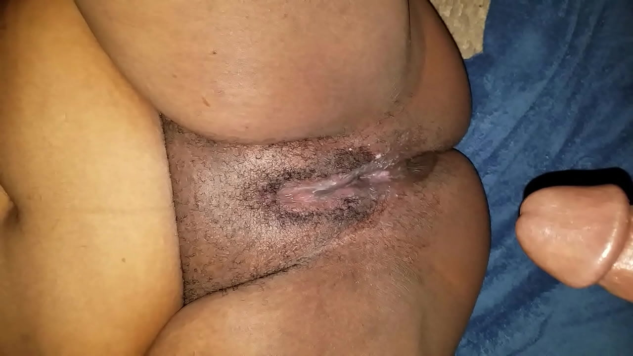 Creamy Wet Black Pussy Solo