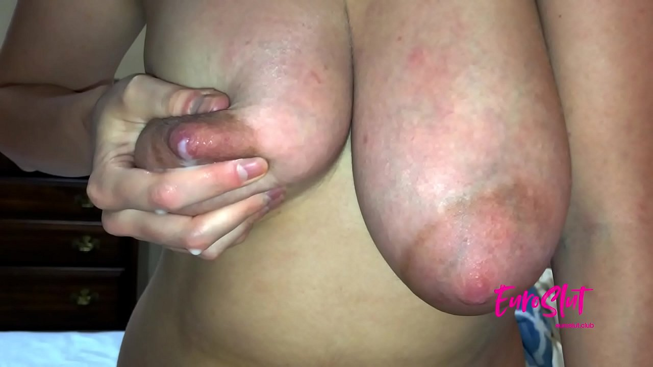 Lactating Tits and Stretched-Out Pussy After Pregnancy