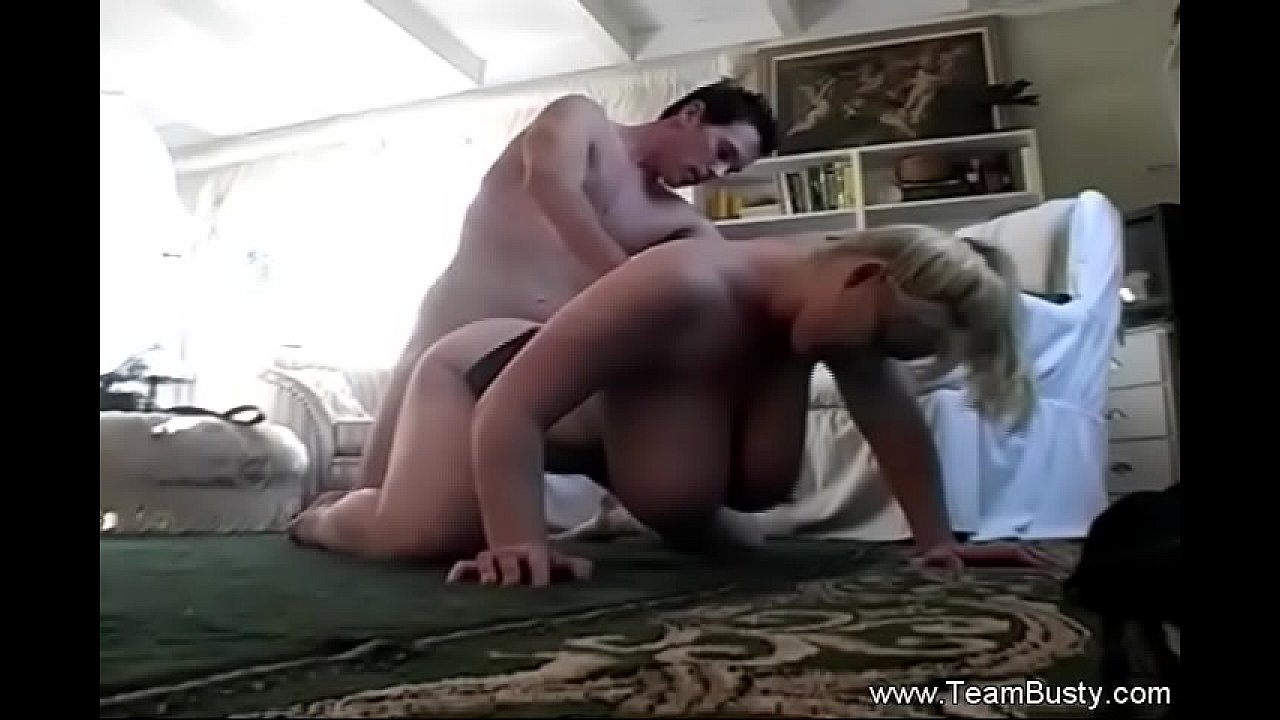 White Big Boobs MILF Sex