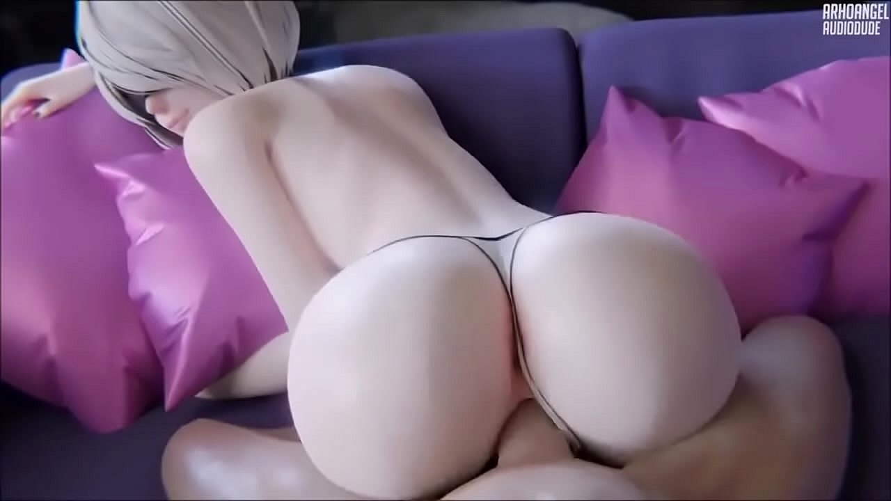 Nier Sfm Porn 2b fucked on the couch pov - xvideos