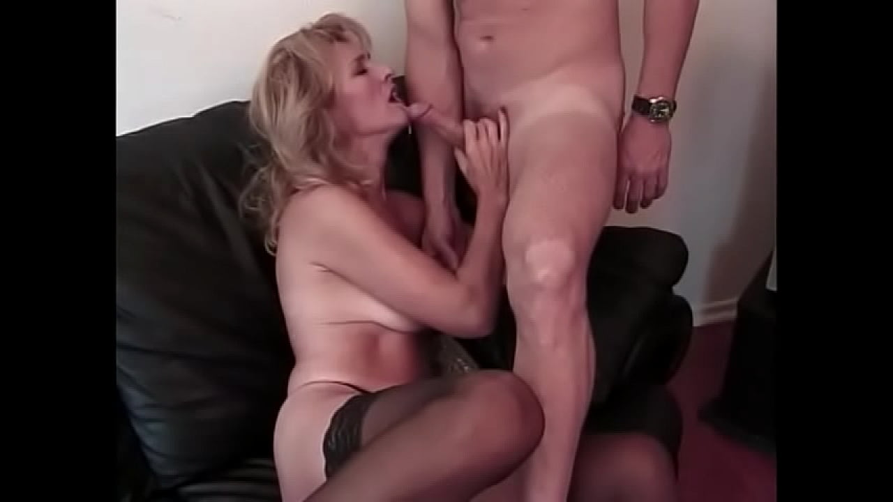 Hot Cougars Sucking Cock