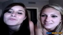 2 young teens showing o...
