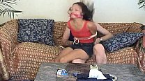 Asian teen tied up and ...