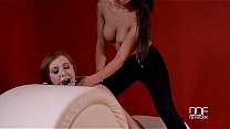 Red head submissive cuf...