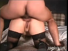 Amateur whore filmed while she's fucked