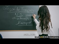 Brazzers - Big Tits at School -  Romance Languages scene starring Anissa Kate and Marc Rose
