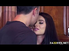 Lana Rhoades giving Keiran...