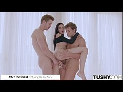 TUSHY Deep Double Penetration Compilation