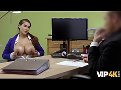 VIP4K. Babe passes dirty casting in the loan of...
