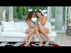 Antonia Sainz and Ellie Springlare in Anal distraction lesbian scene by SapphiX