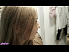 Completely Caught In The Dressing Room During a...
