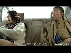 Bratty Asian schoolgirl getting eaten out with skill