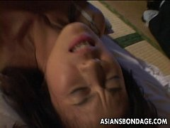 Totally excited Asian slut...