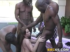 Double Anal With BBC...