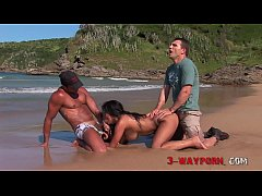 3-Way Porn - Naturally Big Titted Anetta Keys D...