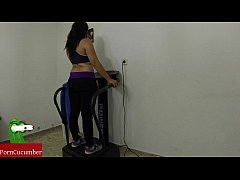 Vibration and penetration in the gym that my ho...