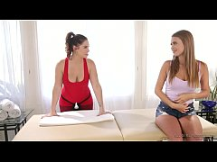 Jill Kassidy enjoys nasty massage with her ex-t...
