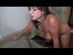 Librarian 50y GILF Fucked from Both Ends