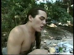 Anna Malle gets anal sex in dp outdoors