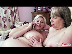 AgedLovE Groupsex With Two Matures and Three Cocks