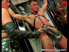 Extreme BDSM and fetish action where