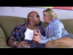 Busty Mom Phyllisha Anne shares Black Cock With...
