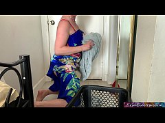 Stepmom helps horny stepson - Erin Electra