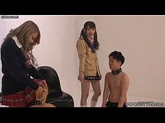 Shuri Atomi and MIRANO play games and punish them for slaves