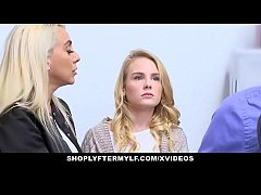 ShopLyfterMYLF - Blonde Mother  And  Daughter F...