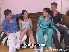 Cuties Panni, Leony Aprill with ponytails fuck ...