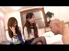 Jav schoolgirls best foot...