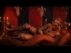 The Witcher 2 - Triss Opening Bed Scene