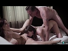 Dirty family reunion with stepdaughter and hot fucking