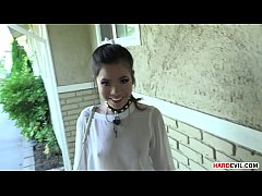 Incredibly Tiny Vina Sky Squirting all over the...