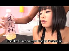 Bottles of cum over Japanese gyaru Uta Kohaku Subtitled