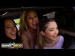 BANGBROS - Ashley Adams, Jane Wilde and Ryan Conner Bring The Heat