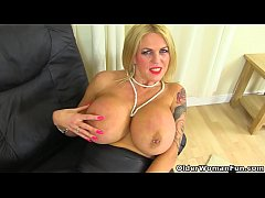 English milf Shannon will...