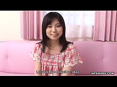 Cute Asian babe getting her sweet parts aroused