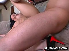 Exciting Asian dolly Mika...