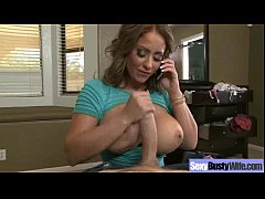 Hard Sex With Bigtits Hot Housewife (eva notty) clip-11