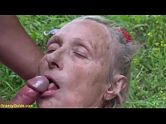 extreme ugly 86 years old mom first brutal publ...