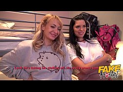 Fake Hostel Young Russian girls in trouble with...