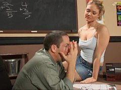 the nice student consoles her teacher