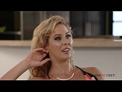 thumb loveherfeet  cherie deville seduces nephew with footjob and asks to fuck her in the ass