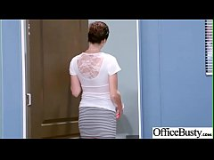 Hardcore Sex In Office With Huge Boobs Girl (Ra...