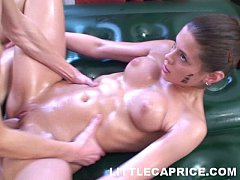 Little Caprice gives thai...